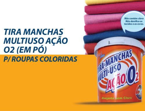 Tira-Manchas (em Pó) p/ Roupas Coloridas