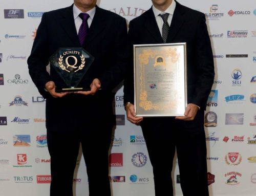 A Saniplus do Brasil recebeu Prêmio Quality